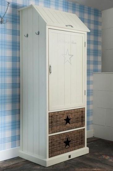 Prachtige kast van Riviera Maison voor de #babykamer | Beautiful closet for the #nursery #kidsroom