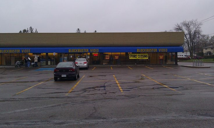 Blockbuster Video's last days.....