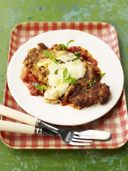 Veal escalope pasta recipes