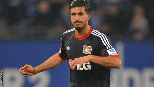 Emre Can completes Liverpool transfer from Bayer Leverkusen  Liverpool have completed the signing of Bayer Leverkusen's Germany under-21 international midfielder Emre Can.