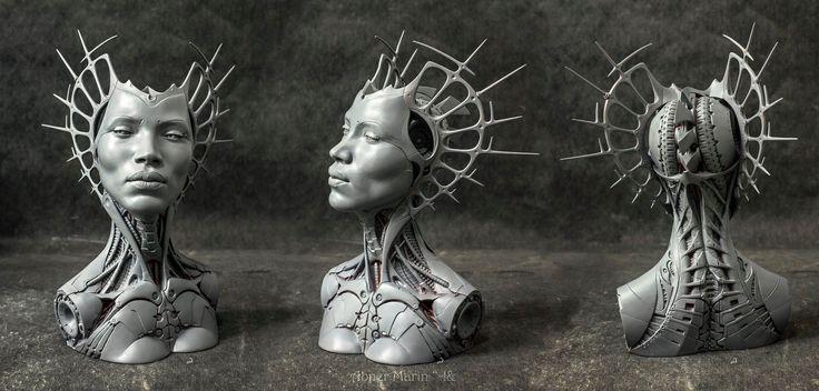 """First look at the 3D printed version of """"Angel"""".... - Abner Marin Sanchez de la Vega y el Sagrario"""