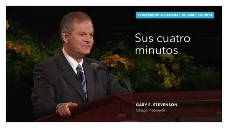 Extracto: Sus cuatro minutos—Gary E. Stevenson