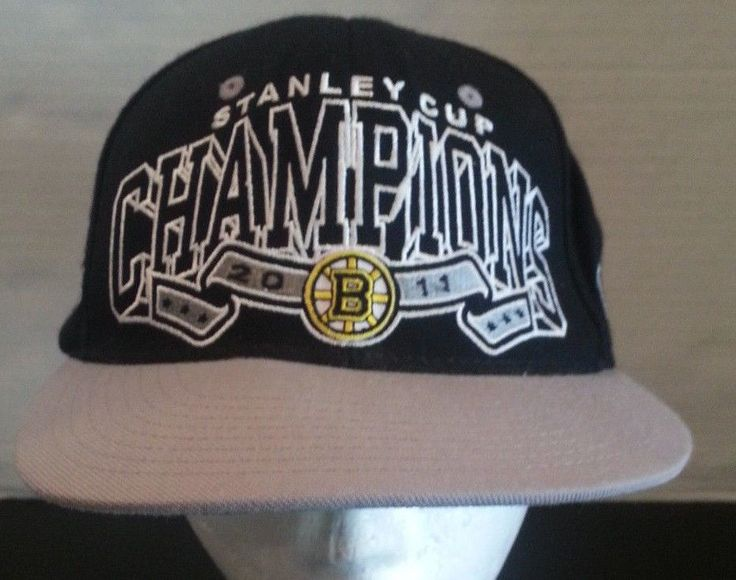 Boston Bruins Hat  Official NHL Stanley Cup Champions 2011 Cap  #Zephyr #BostonBruins