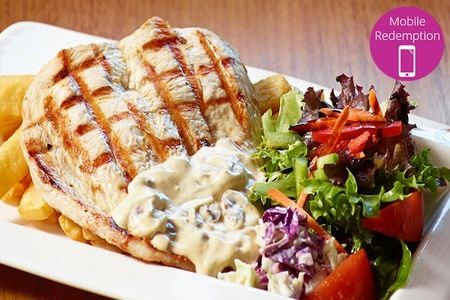 Gold Coast - Three-Course Steakhouse Dining for Two ($39) or Four People ($75) at Outback Jack's Bar & Grill (Up to $176 Value).