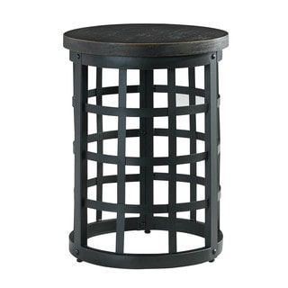 Shop for Signature Design by Ashley Marimon Black Round End Table. Get free shipping at Overstock.com - Your Online Furniture Outlet Store! Get 5% in rewards with Club O! - 17811488