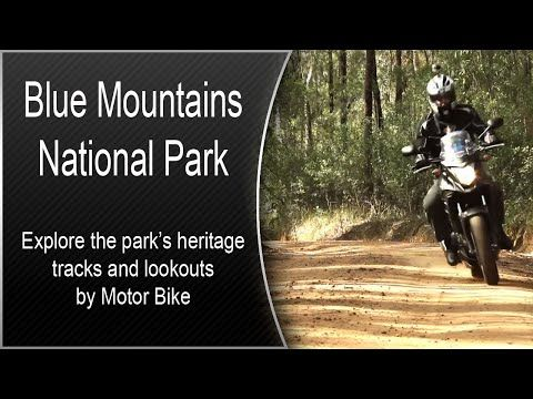 Blue Mountains National Park, Glenbrook, New South Wales by Motor Bike - YouTube