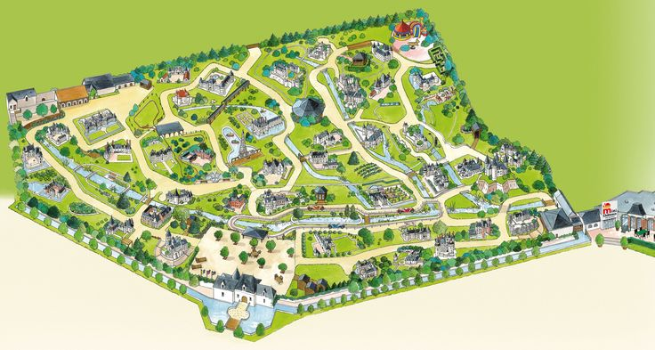 Le parc des mini-châteaux à Amboise 2014