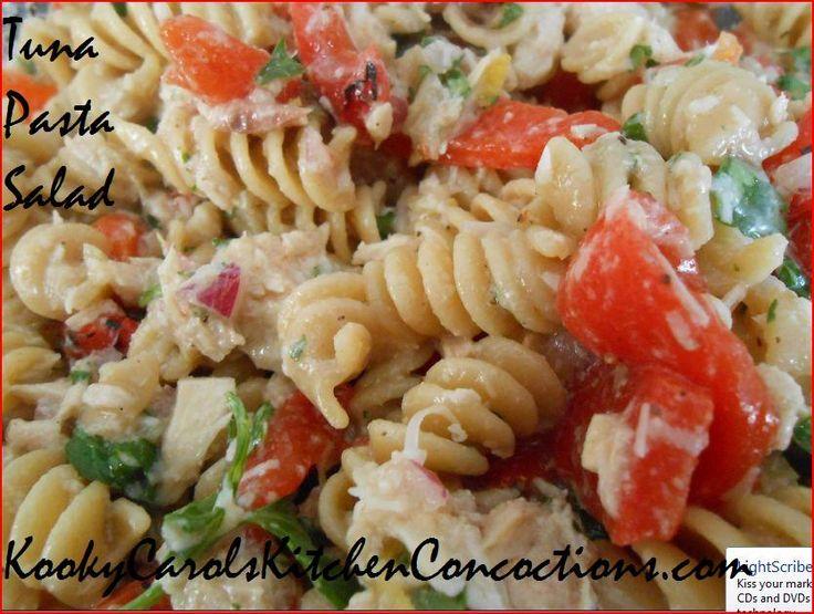 Low Fat Tuna Pasta Salad 107