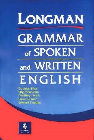 ENGLISH BOOKS ONLINE: Longman Grammar of Spoken and Written Englis