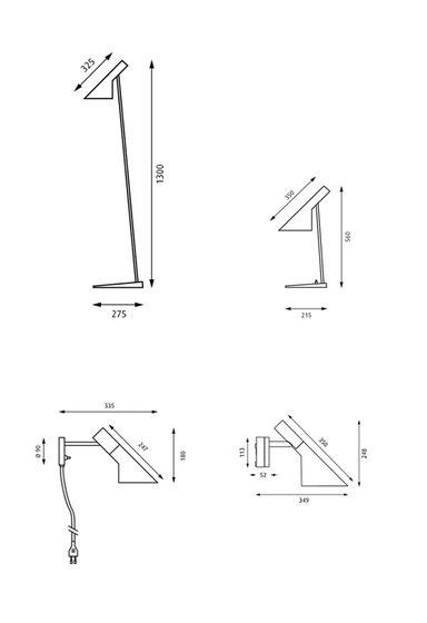 AJ Hersteller Louis Poulsen Designer Arne Jacobsen