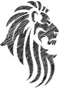 Lion Tribal Tattoo Cool Style