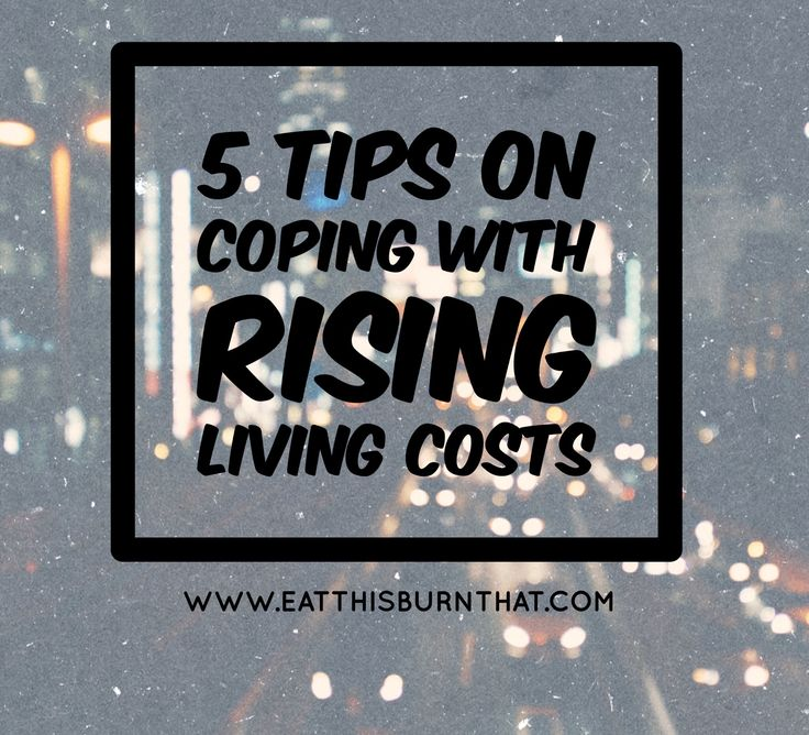 Sacrifice or Save? What would you do? I am definitely going for the latter and I will sharing 5 tips on how to cope with rising living costs.