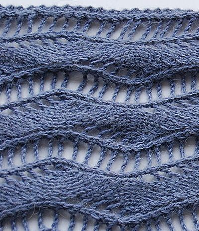 Love this lace scarf.  Maybe for some sock yarn I don't know what else to do with.  :D