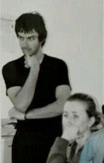 A very young Aidan Turner in goofy hair at The Gaiety School of Acting omg aidAn!..