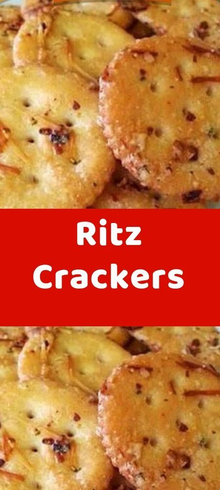 Ritz Crackers To Make this Recipe You'Il Need th…