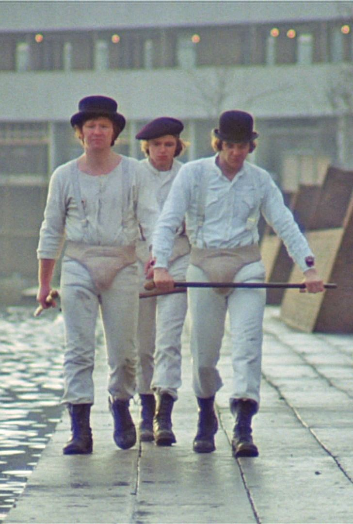 Clockwork Orange (1971) - Malcolm McDowell was so hot. Not he's just Tote Magotes
