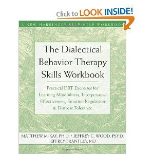 35 best emotional regulation and distress tolerance images on the dialectical behavior therapy skills workbook practical dbt exercises for learning mindfulness interpersonal effectiveness fandeluxe Image collections