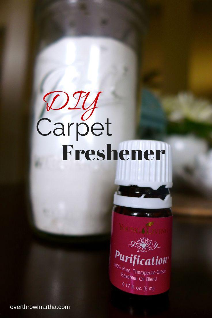DIY carpet freshener