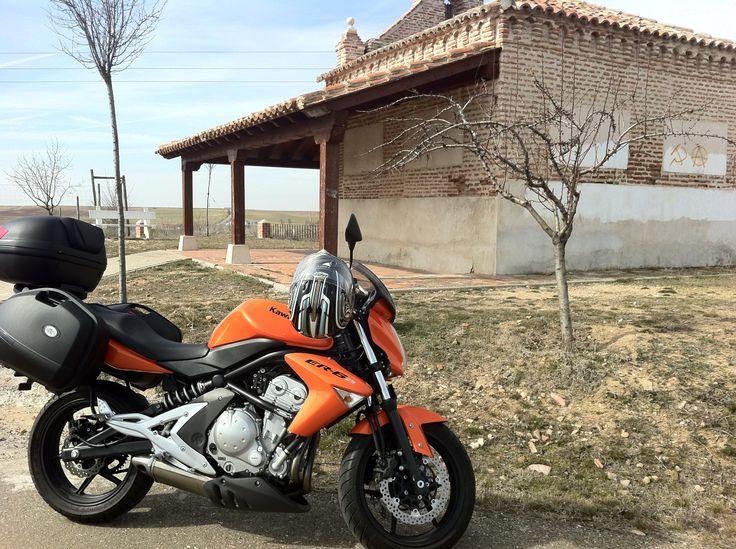 Kawasaki ER-6n Por La Seca (Valladolid)
