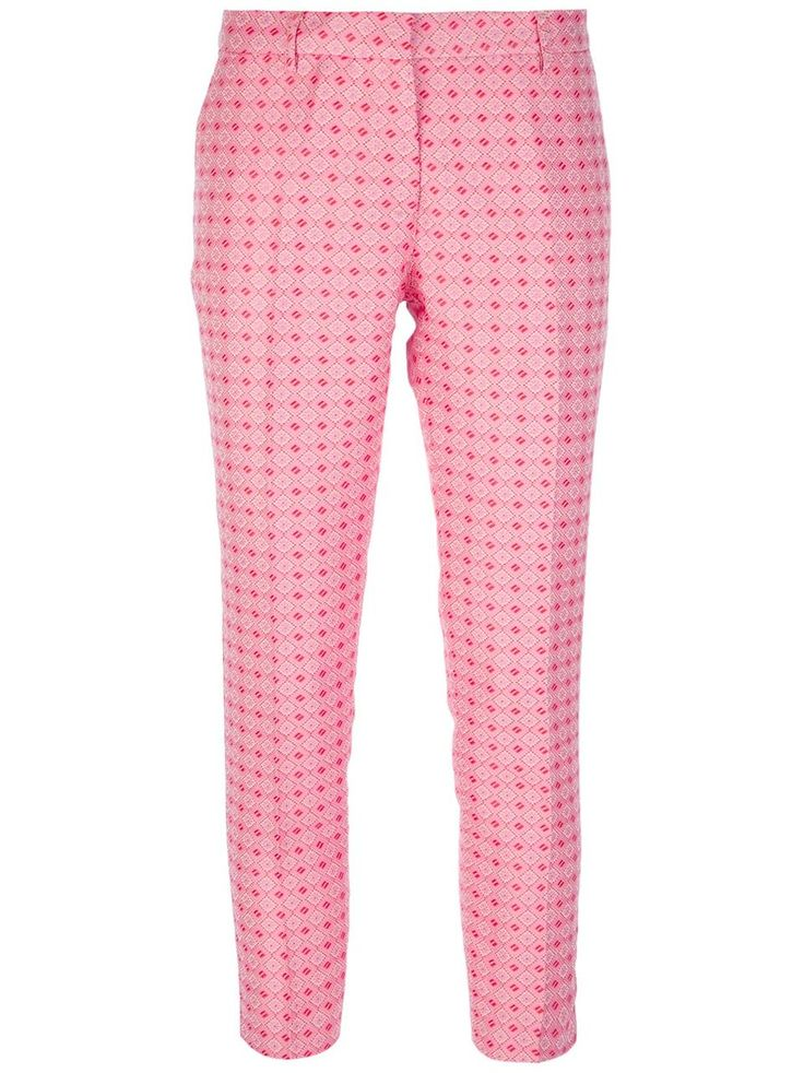 Tres Chic S.A.R.T.O.R.I.A.L. checked cropped trouser #womens #pink #trousers #cropped #checked #love #wantering