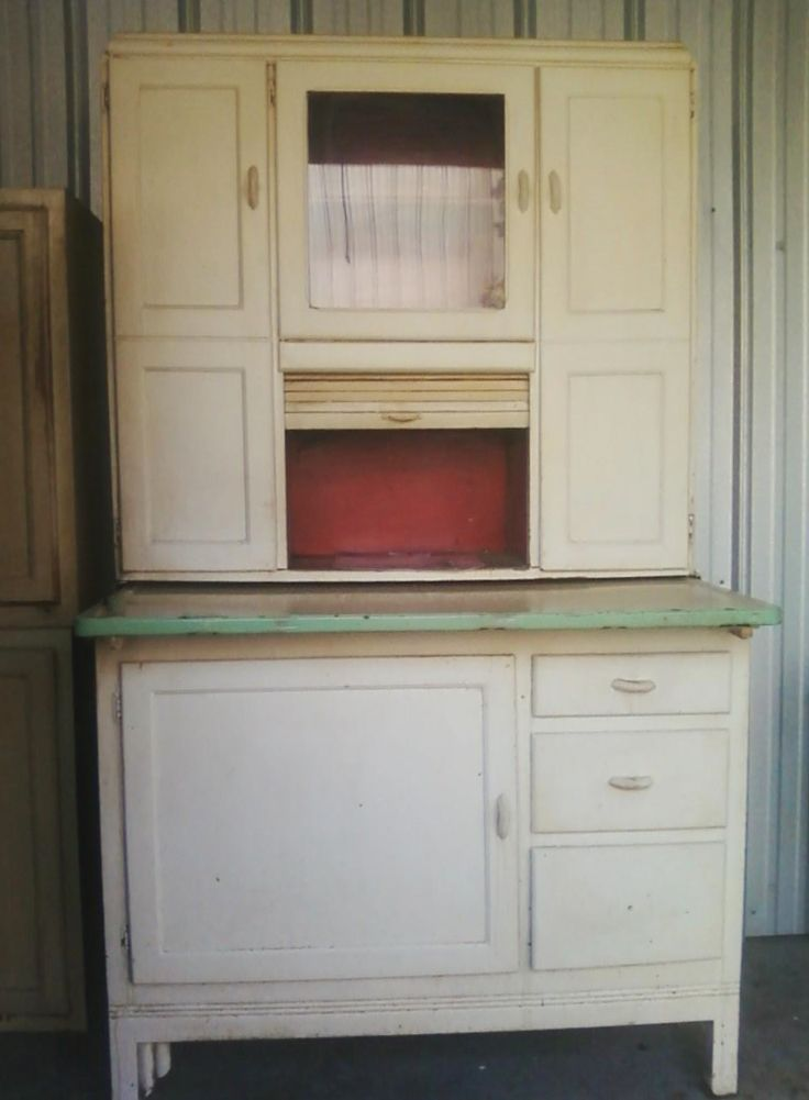 41 Best Images About Hoosier Cabinets On Pinterest