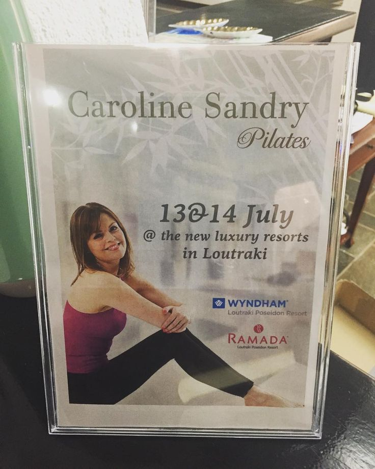 What a great time we had! Thank you Caroline for the amazing Pilates workshop you offered at Ramada Loutraki Poseidon Resort. We look forward to having you soon again!