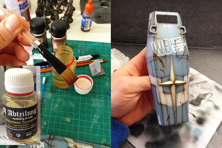 Gavin Lee Manners : Creations: PG 1/60 RX 78-2 Weathering Process