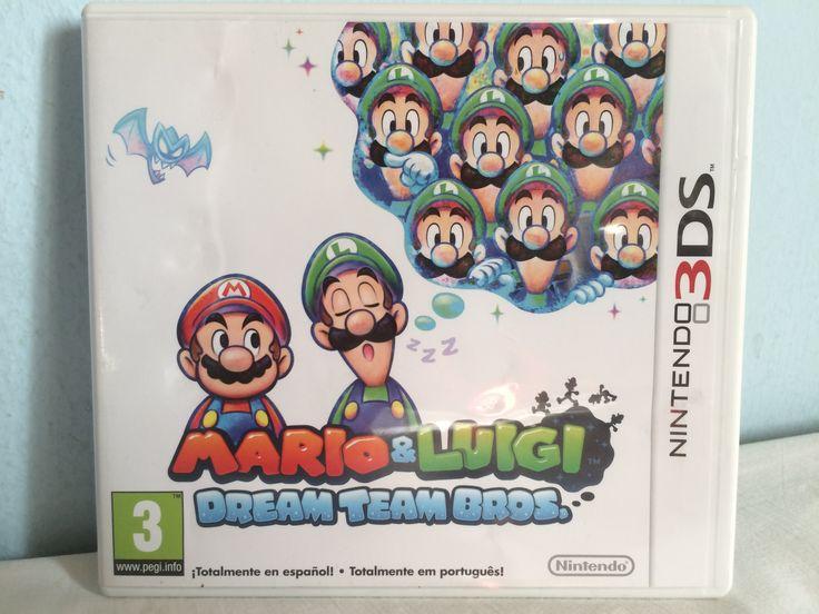 Mario & Luigi Dream Team Bros game.
