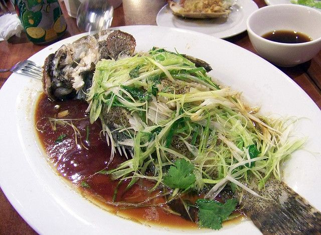 Chinese Steamed Fish ~ http://www.singaporelocalfavourites.com/2012/05/chinese-steamed-fish.html