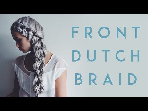 Front dutch braid tutorial | Kirsten Zellers | A DIY Style and Beauty Blog