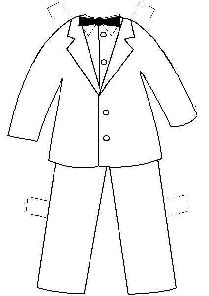 printable clothes templates | Paper Doll Project | 4 fun ...