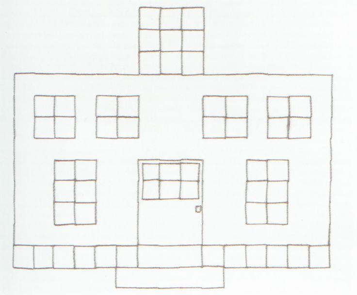 Le Corbusier? Stickarbeit, Fröbel-Kindergarten, USA ca. 1890