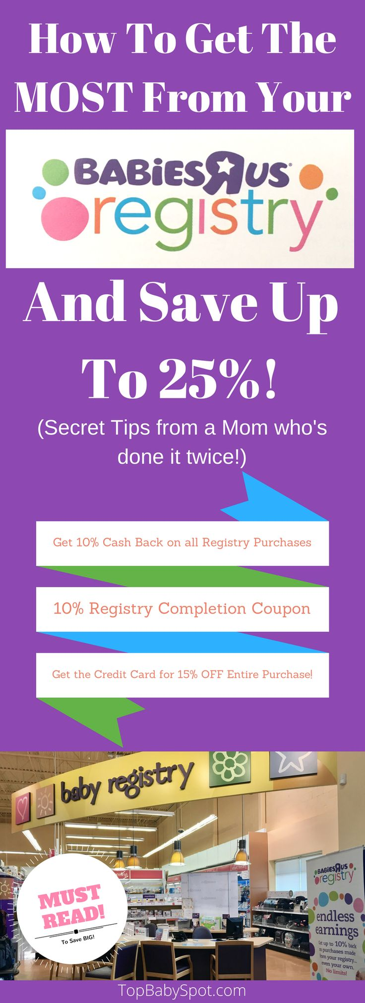 How To Get The MOST From Your Babies R Us Registry and Save Up to 25%!