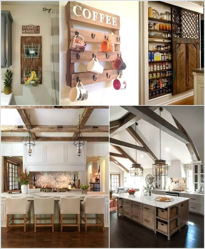 King Size Bed With Storage, 32 Modern Rustic Farmhouse Kitchen Decor Ideas Thelatestdailynews