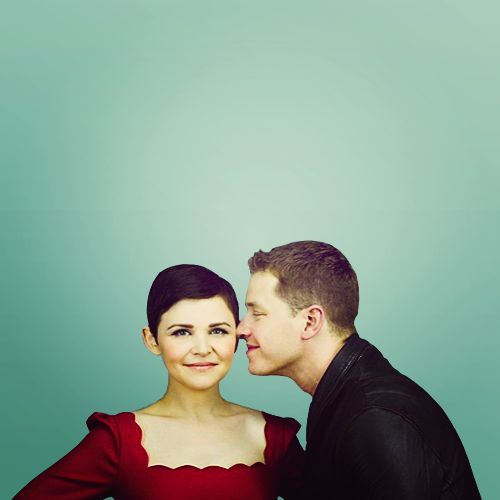 Snow white and prince charming :) Once Upon a Time