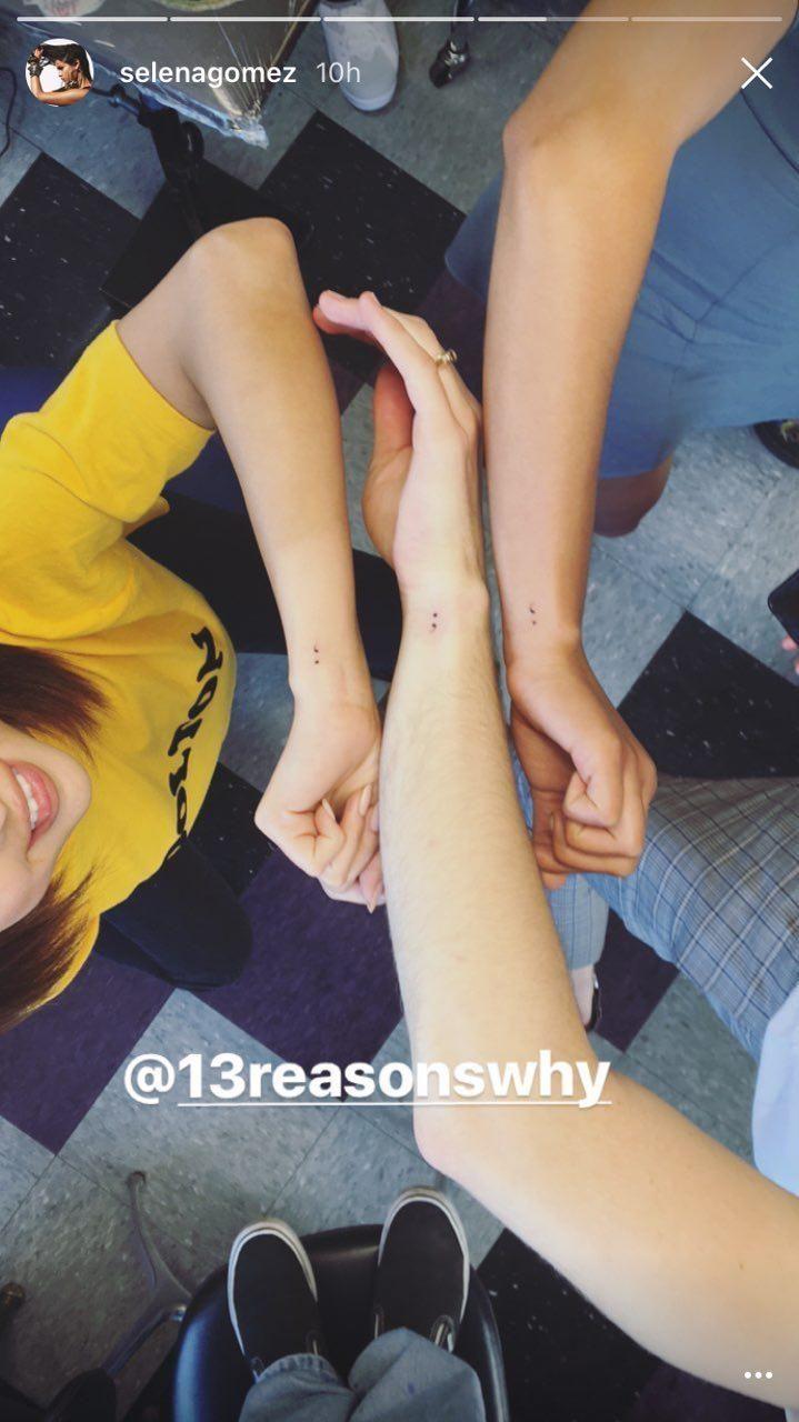 selena gomez's new tattoo .  #selenagomez #selena #gomez #new #tattoo