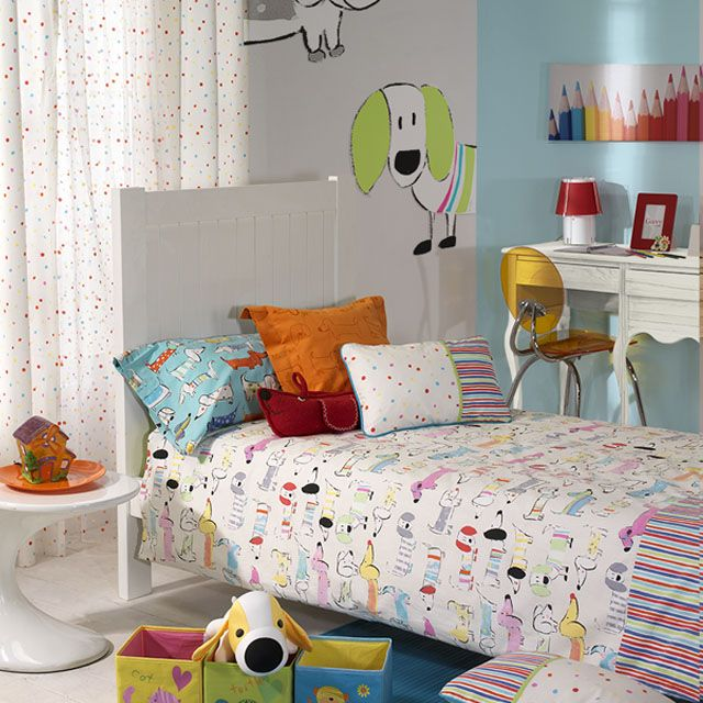 Enjoy this lovely puppy design of cotton. -Collection Momo by #Rioma-