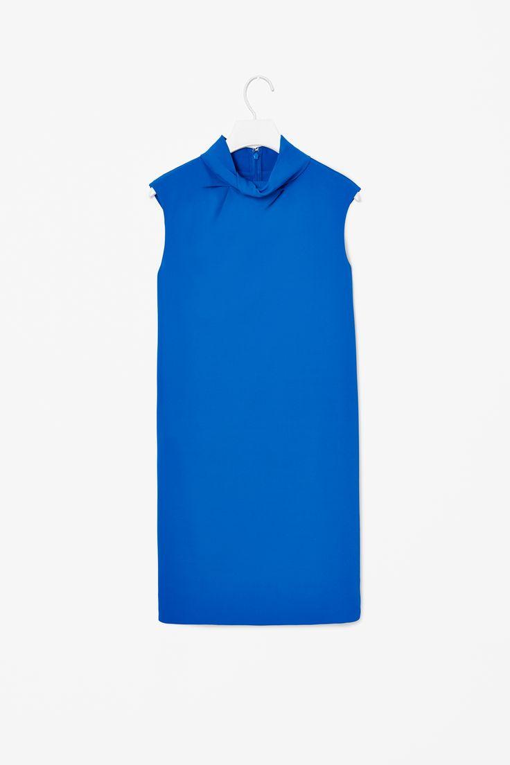 Twisted neck dress