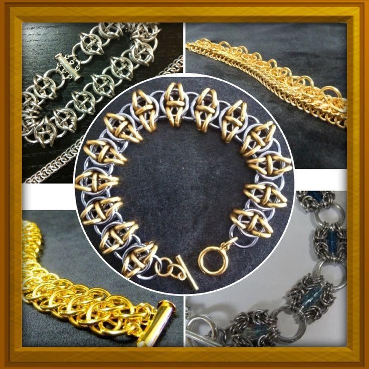 A few bracelets ...