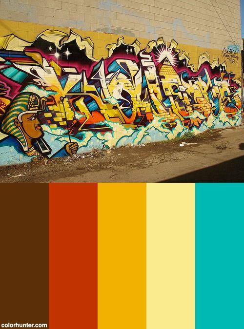 Knowledge - Revok Msk Awr Seventhletter Losangeles Graffiti Art Color Scheme