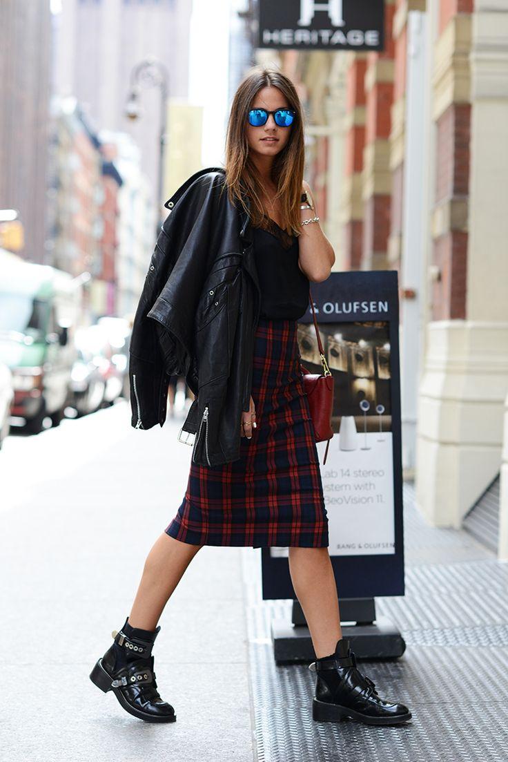 Armelle 39 S Tumblr Plaid Street Chic Pinterest Armelle Plaid Et La Couture