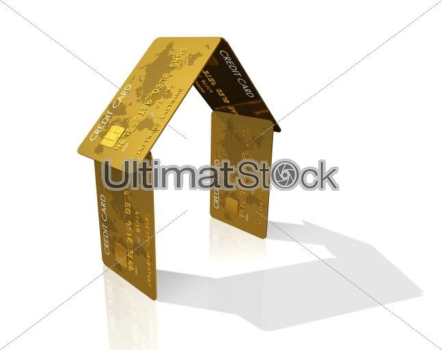 Credit card house #ultimatstock #stockphotos  #graphicdesign #photoblog