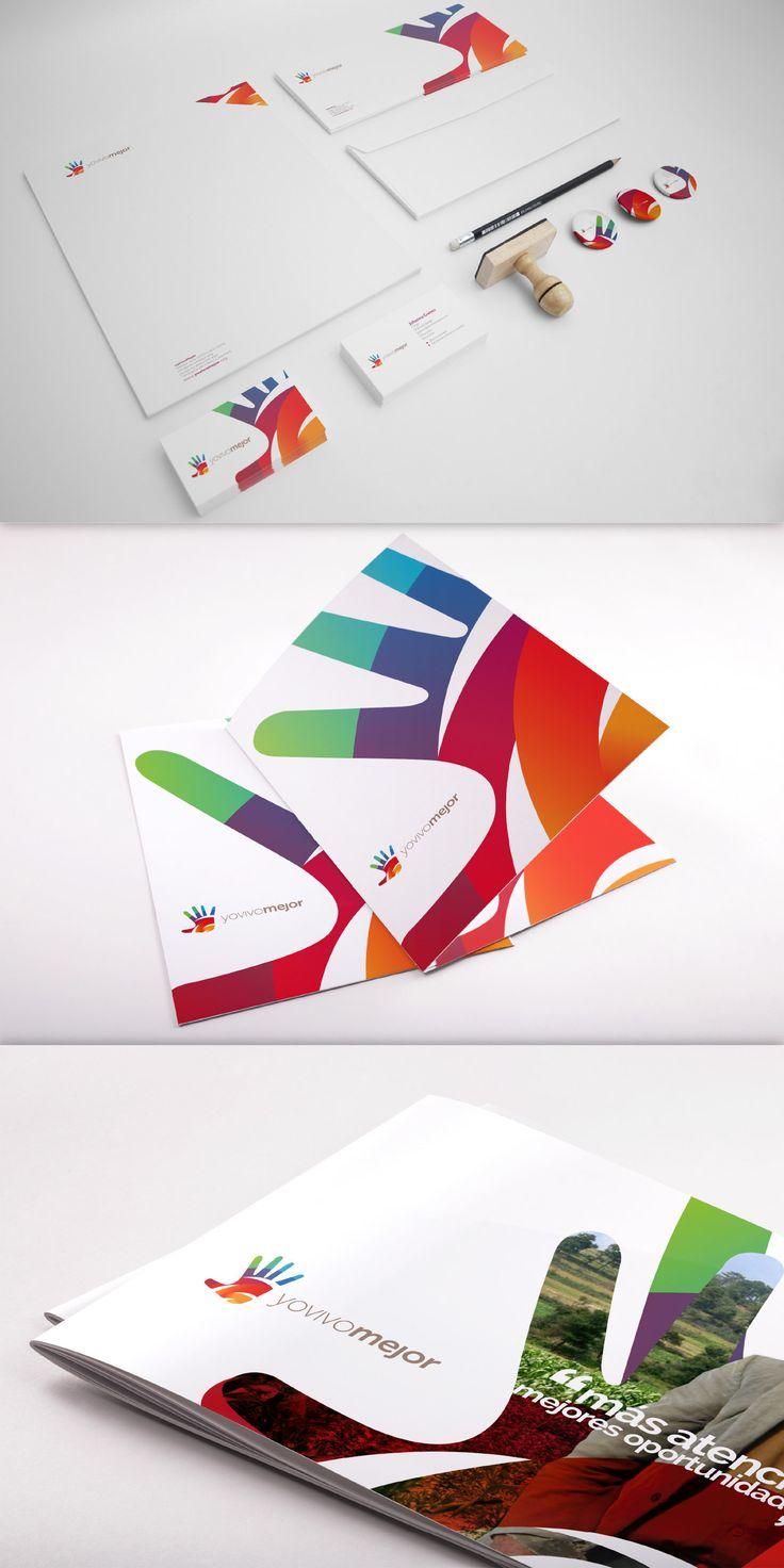 哥伦比亚Yo Vivo Mejor品牌设计_VI设计_梦想设计
