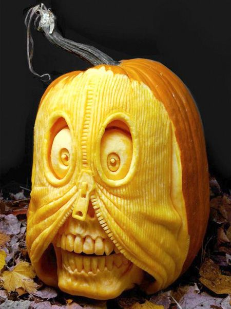 Scary Halloween Pumpkin Carvings | Scary Halloween Pumpkin Carvings | Steamy Kitchen Recipes