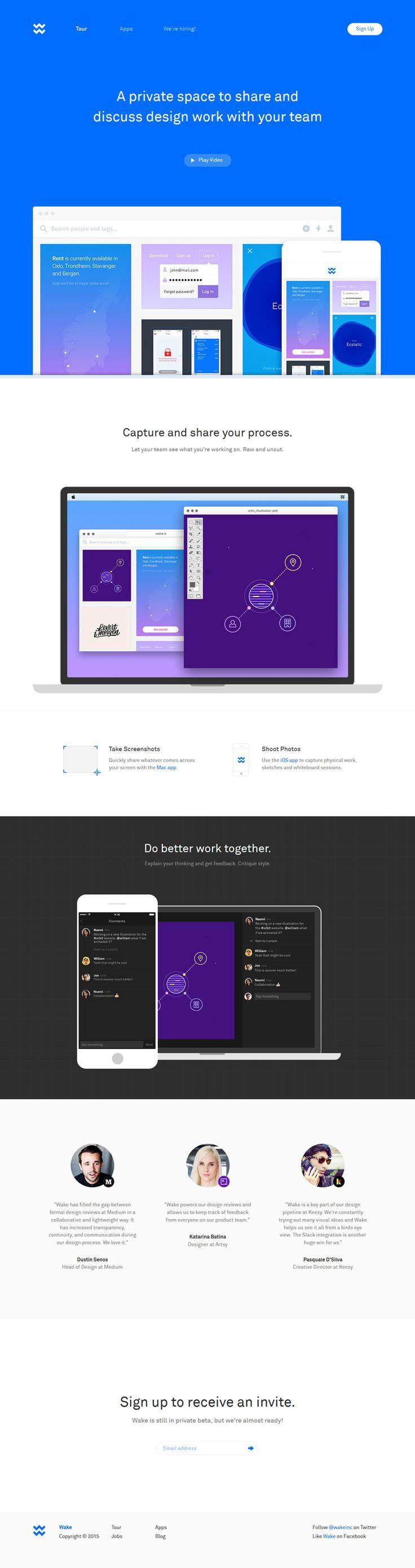 Wake - Clean Web Design