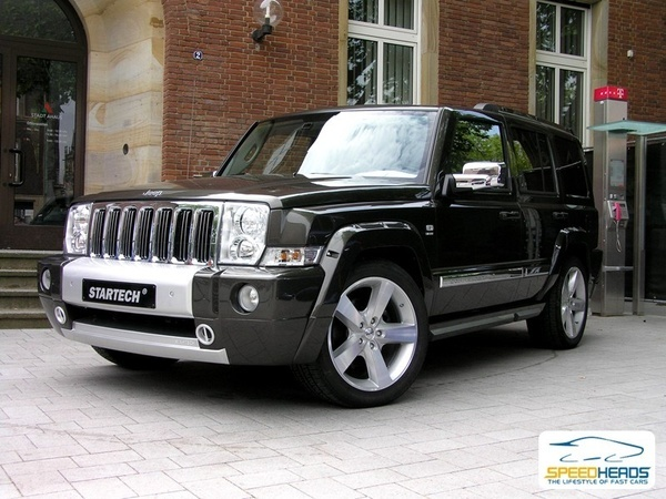 Jeep Commander - One of the best selling cars of the world. I need these rims & tires for my commander ; ))