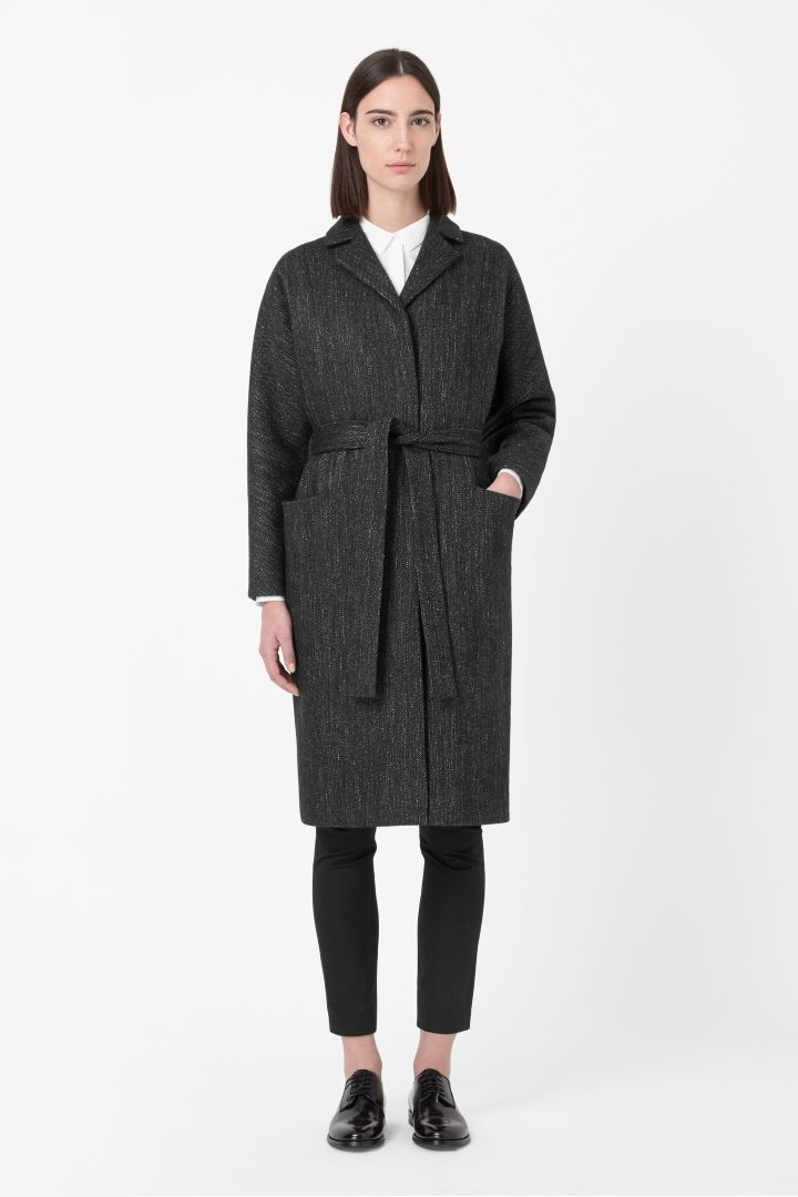 COS | Belted wool coat