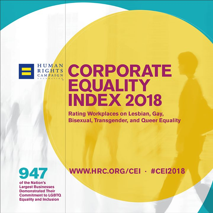 79% of employers that participated in HRC's Corporate Equality Index now offer workers at least one health care plan that has transgender-inclusive coverage. hrc.org/cei