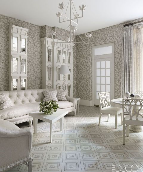 20 Pristine Ways To Design With White Living Room Furniture Part 62