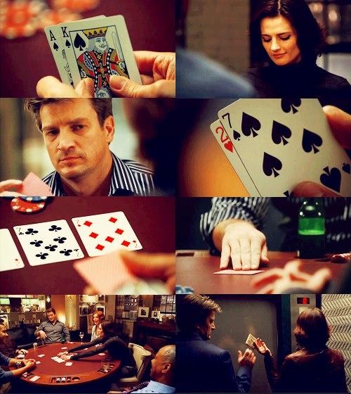 Richard castle poker game horaire ouverture geant casino la valentine